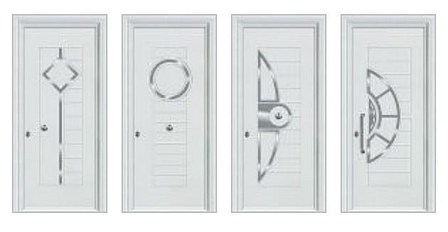 Θωρακισμένες πόρτες αλουμινίου & στοιχεία inox