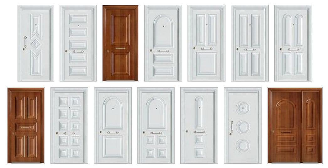 Θωρακισμένες πόρτες αλουμινίου
