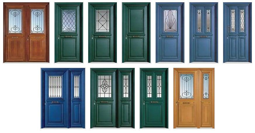 Πόρτες ασφαλείας με 11 κινητά & 5 σταθερά έμβολα