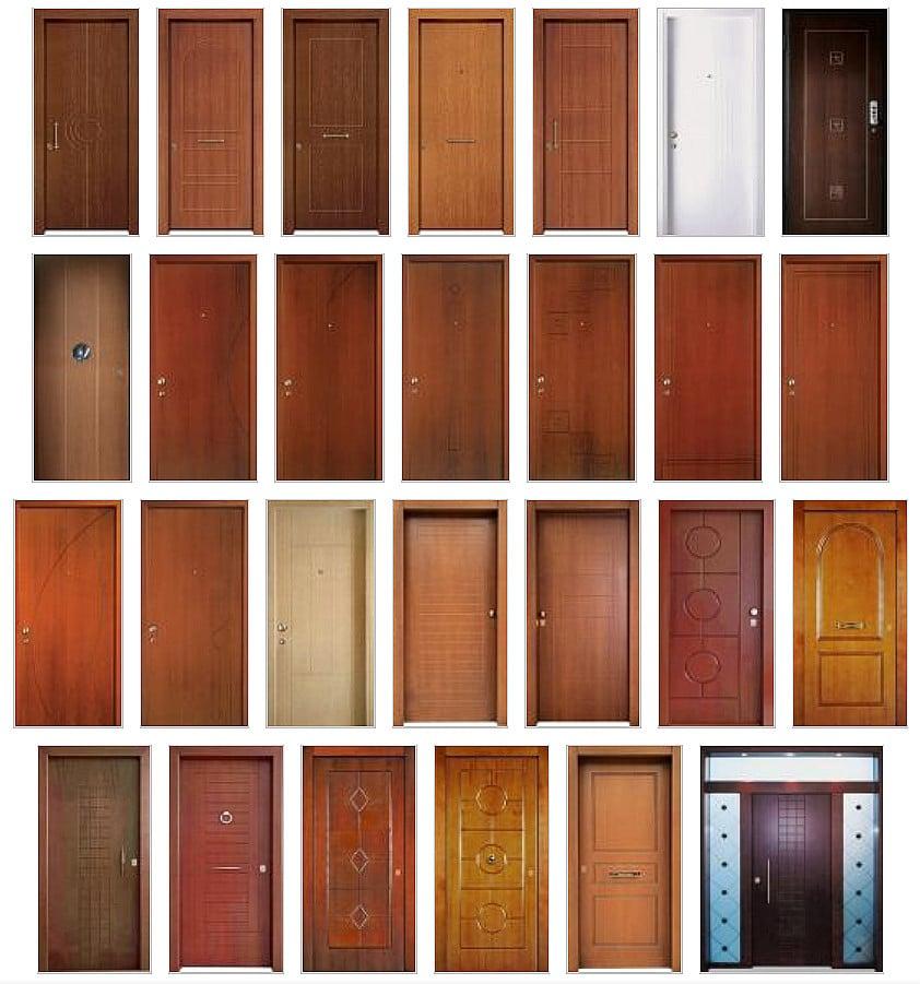 Θωρακισμένες πόρτες laminate παντογραφικές