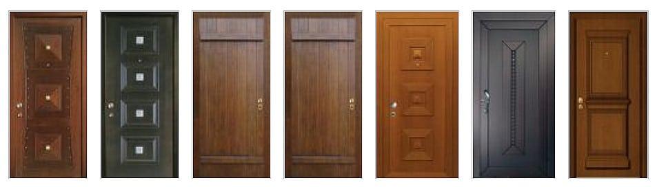 Θωρακισμένες πόρτες με χειροποίητη επένδυση